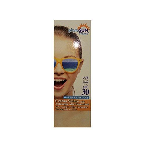 Phyto Sintesi Phytosun Solar Crema Solar Viso Antirughe alta protección Water Resistant 30SPF 100ml