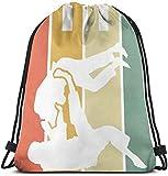 surce Judo Gym Bag Mochila con cordón Unisex Saco de cincho Ligero Duradero Gran...