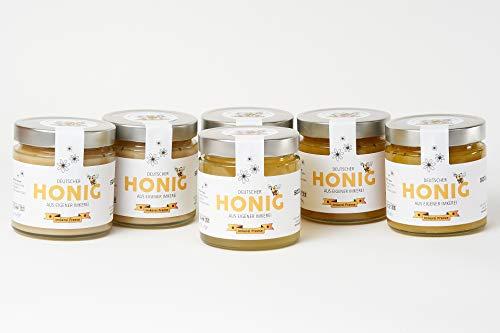 Imkerei Freese - Deutscher Bienenhonig (verschiedene Sorten) 6x 500g