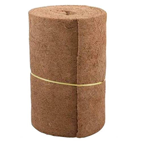 Coco Liner Roll for Hanging Baskets Garden Wall Patio Planter Flower Pot Coconut Mat Fibre