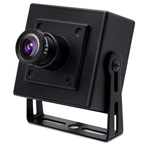 SVPRO USB Kamera 4K 30fps Ultra HD Webcam mit IMX317 Sensor, 2160P Web Kamera mit Weitwinkel 3.6mm Objektiv, USB2.0 UVC konforme Mini Kamera mit Halterung für PC Mac Laptop Tablet Desktop