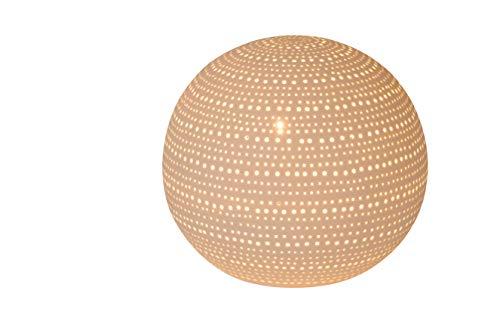 Lucide 13518/01/31 Lampe de table, Céramique, E14, 25 W, Blanc
