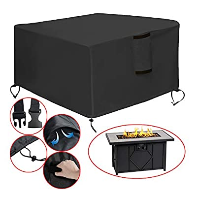 Saking Patio Fire Pit Covers Square & Rectangular 28/30/32/33/36/40/42/44/50 inches