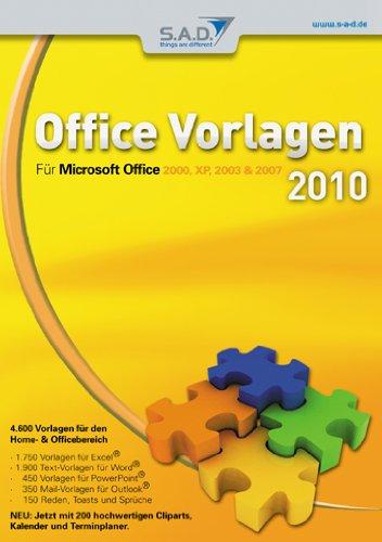 Office Vorlagen 2010 [import allemand]