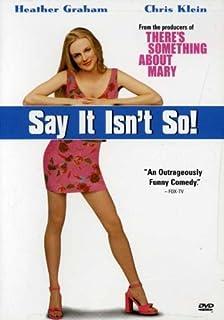 Say It Isn't So [Reino Unido] [DVD]
