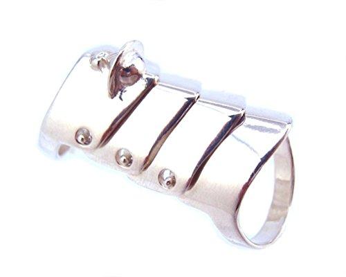 ヴィヴィアンウエストウッド Vivienne Westwood 指輪 Armour Ring アーマーリング SV925 [Mサイズ] (15) [並行輸入品]