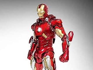 Iron Man 3 Die-Cast Iron Man Mark VII 1/12 Scale Figure [並行輸入品]