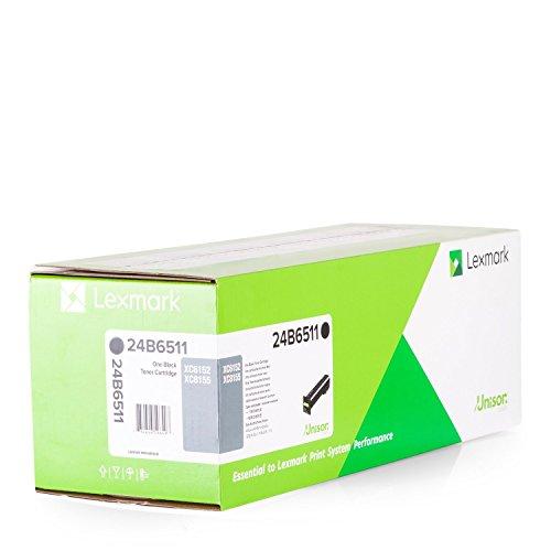 Lexmark 24B6511 XC6152 XC815 Toner Cartridge (Black) in Retail Packaging