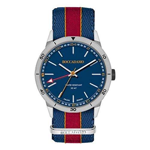orologio solo tempo uomo Boccadamo Navy casual cod. NV024