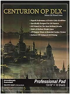 Centurion Deluxe Oil Primed Linen Pad 12x16