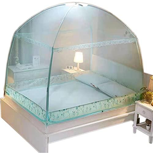 OKMNB Yurt Moskitonetz, Keine Installation DREI Türen Hohe Verschlüsselung Bottom Dome Anti-Moskito Anti-Fallen...