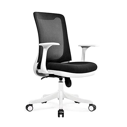 N&O Renovierungshaus Freizeitstühle Bürostuhl Ergonomischer Mesh-Chefsessel Verstellbare Sitzhöhe Rotierender Computer-Schreibtischstuhl Langlebig stark