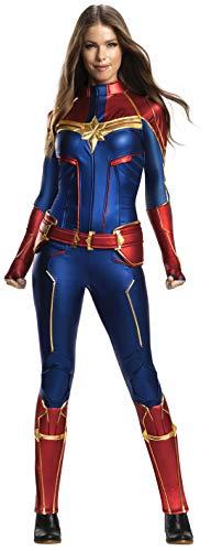 Women's Captain Marvel Deluxe Costumes