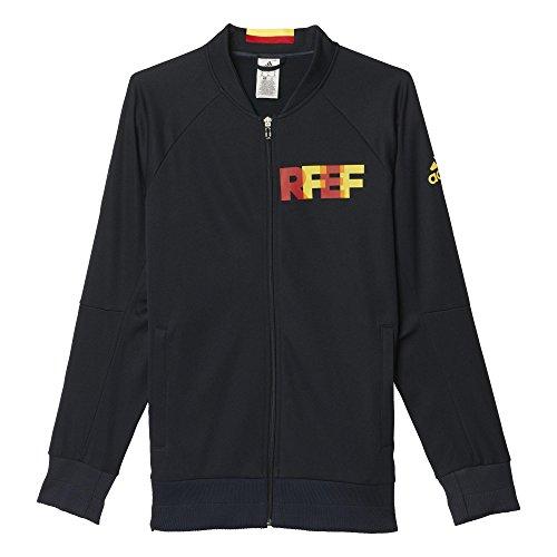adidas–Maglietta Spagna Inno Giacca da Calcio (Blu Navy), Uomo, Navy Blue, Yellow, Red'