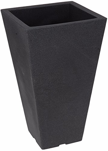 Tall Square Plastic Indoor or Outdoor Plant Pots Garden Planters