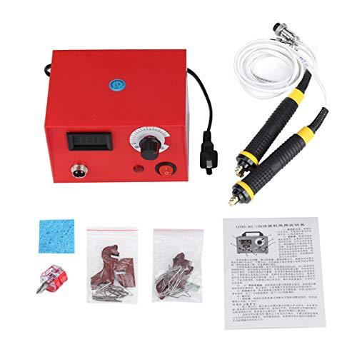 YONH Wa 50W Multi-Fonction Pyrogravure Machine Outil Gourde Bois Brûlure Stylo Craft Outil Kit Ensemble-US Plug Outil de soudage électrique