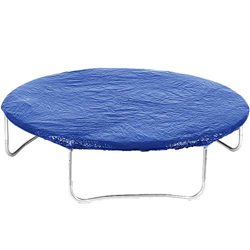 Jumptastic Trampoline Cover with 4 Drain Holes fit 10ft Trampoline UV Resistant Rain Cover Universal Protection from Severe Weather and Dust