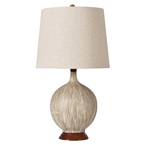 ZWL Lampe de céramique créative, lampe de nuit pour chambre à coucher Lampe de décoration d'hôtel Maison Villa Simple Club Lampes de salon E27 Lampe de bureau 30.5 * 58CM fashion.z ( taille : 30.5*58CM )