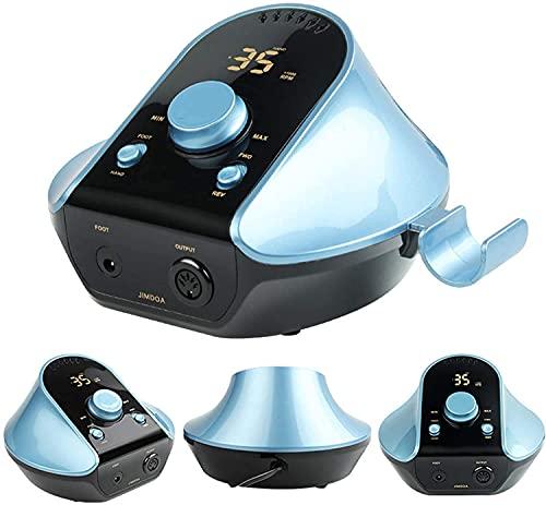 Sgxiyue Máquina de Taladro de uñas portátil para uñas de acrílico Herramienta de Molinillo de Archivo E Recargable EXCARGABLE EXCARGABLE con Pedal DE MANICULA/PEDICURA, Pulido, POLIDO DE CUTÚO