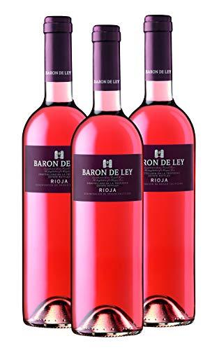 Baron de Ley Rosado Rioja - Pack 3 botellas 75 cl