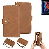 K-S-Trade® 2in1 Mobile Phone Wallet Case For Archos