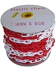 SNS SAFETY LTD Cadena Plástico de Señalización 6 mm