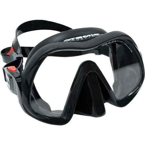 Atomic Venom Frameless Mask, All Black