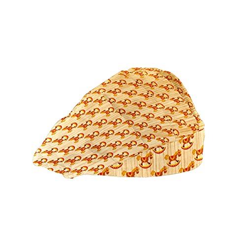 Gorra de mujer para cabello largo con banda elástica ajusta
