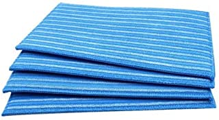 Ximoon 4 Pack Washable Steam Cleaning Pads for All HAAN FS, SI and MS Series Steamers SI-40 SI-70 SI-35,Part # RMF4X, RMF2X