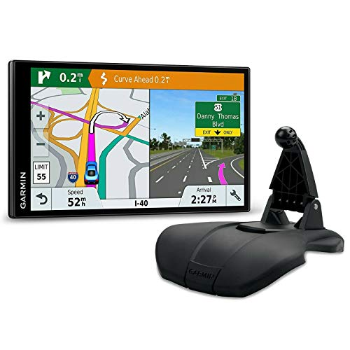 Garmin DriveSmart 61 LMT-S Friction Mount Bundle GPS with Lifetime Maps of North America, Traffic, and Smart Features (010-01681-02)