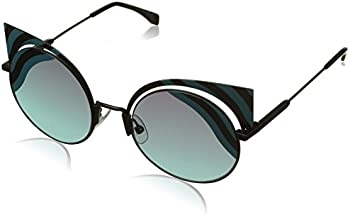 Fendi Gradient Round Sunglasses
