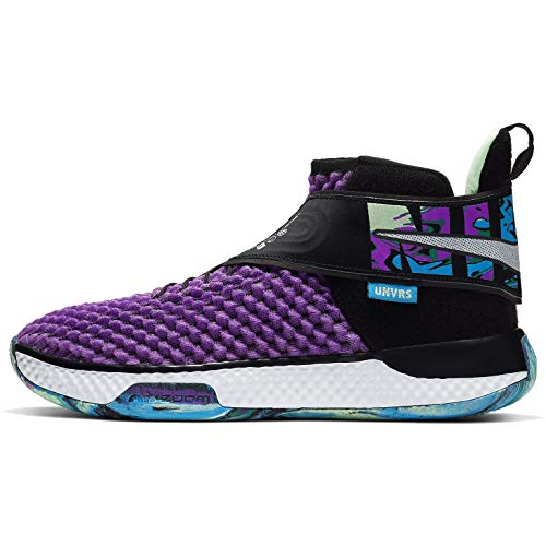 Nike Air Zoom UNVRS Basketball Shoes (Sizes 3.5-15) (9.5, Vivid Purple/White)
