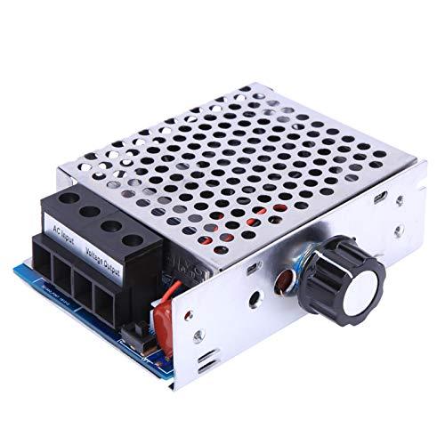Dilwe Regulador de Voltaje AC 110V 230V 10000W, regulador de Voltaje de tiristor electrónico, regulador de Voltaje SCR, regulador de Velocidad del Motor