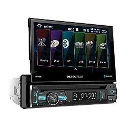 top 10 soundstream in dash Soundstream VR-75B Car DVD / CD / AM / FM Car Stereo Receiver, Bluetooth, Single DIN, 7 inch …