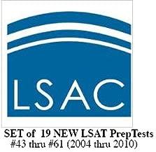 Set of 19 Official LSAT PrepTests Nos 43 thru 61 / 2004 thru 2010