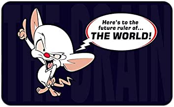 Pinky and The Brain Cartoon TV Show Stylish Playmat Mousepad (24 x 14) Inches [PM] Pinky and Brain-4