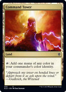 Magic: The Gathering - Command Tower - Brawl Deck Exclusive - Throne of Eldraine