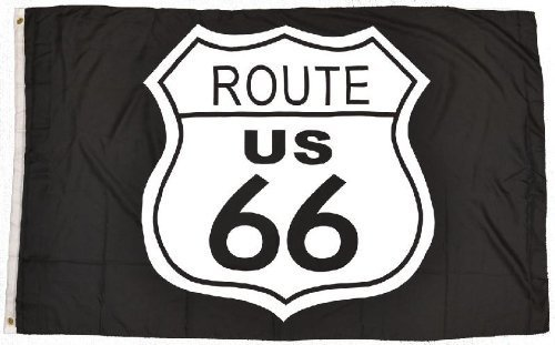 Route 66bandiera 3'X5' By western Express
