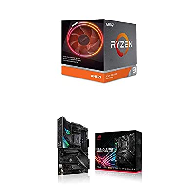 AMD Ryzen 9 3900X Processor (12C/24T, 70MB Cache, 4.6 GHz Max Boost) and ASUS X570 Motherboard