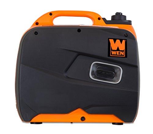 WEN 56380i generador de inversor portátil súper silencioso de 3800 vatios con Apagado de Combustible y Arranque eléctrico