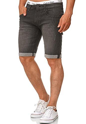 Corto Pantalone Estate Pantaloncini per Uomo Men Pants Short Cintura 100/% Cotone Indicode Uomo Nicolas Pantalonicini Cargo Check 3//4 a Quadri con 6 Tasche incl