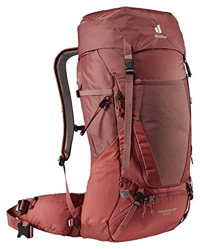 Deuter Futura Air Trek 10 SL Mochila de Trekking, Mujer, Redwood-Lava, 45+10 L