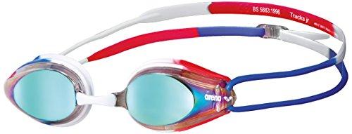 ARENA Unisex jongeren zwembril Tracks, spiegel