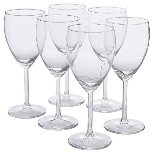 IKEA 000.151.34 Svalka Weißweinglas, Klarglas