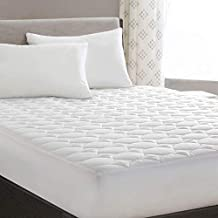 HYLEORY Queen Mattress Pad Cover Stretches up 8-21