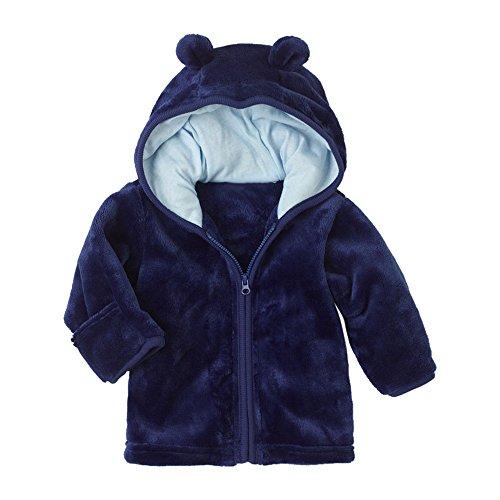 Giacca Zipper Bambino Invernali Coniglio Cappuccio,Homebaby Giacca del Mantello del Cappotto di Inverno della Neonata Giubbotto Vestiti Caldi Spessi Felpa Maniche Lunghe Caldo Capispalla