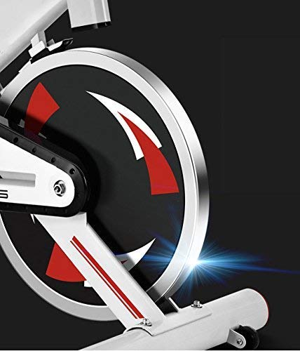 FIT-FORCE Bici Spinning X24KG con Volante de inercia de 24kg Negro