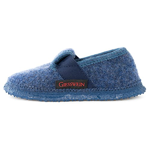 Giesswein Türnberg, Pantofole bambino, Blu (527 / jeans), 30
