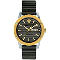 Versace Theros Automatic Brown Dial Men's Watch (VEDX00219)