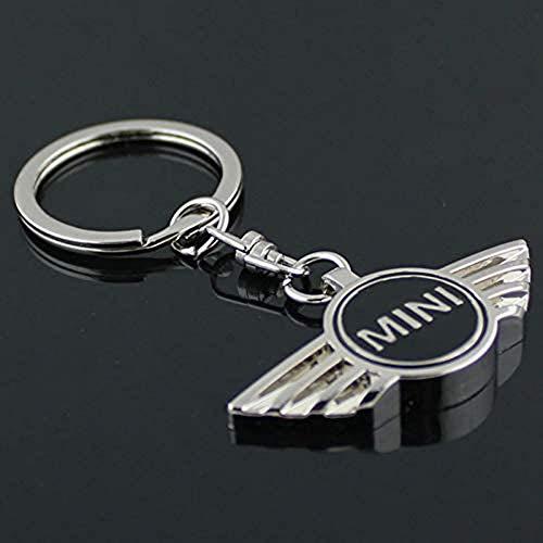 Mini Cooper Schwarzer Metall-Schlüsselanhänger